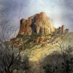 Spring 2020 : Casa Grande in the Chisos by Tim Oliver