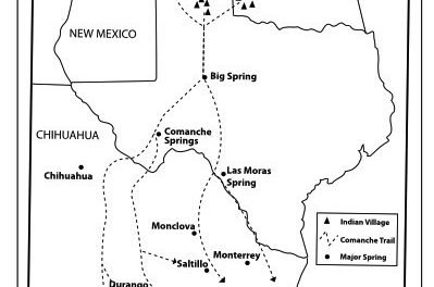 Trail of Fears: The Comanche Trail in West Texas